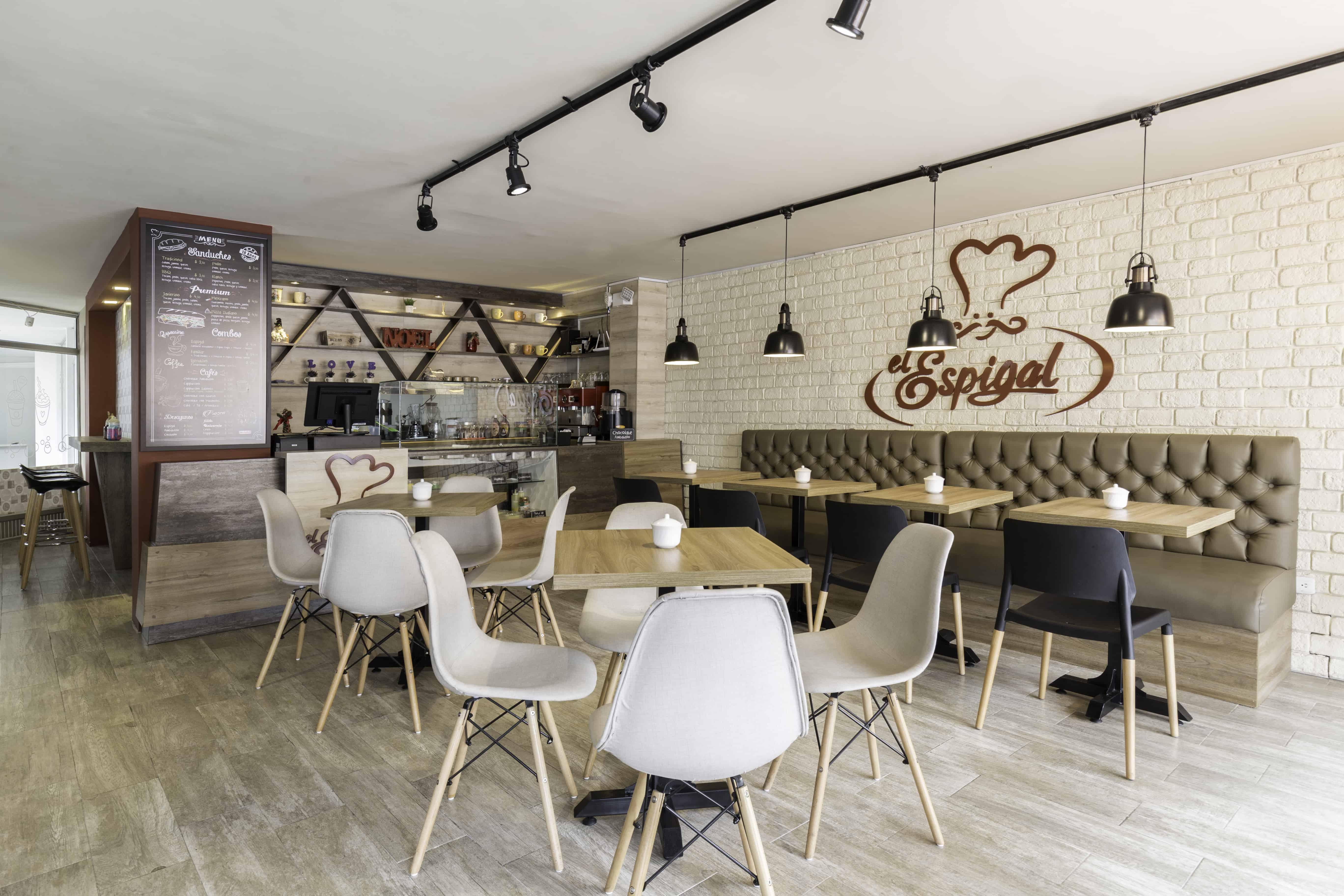 Detalle   El espigal Cafetería